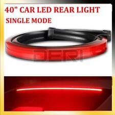 Universal 1M Red LED Car High Mount Third Brake Stop Rear Tail Light Bar Strip