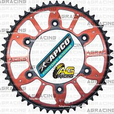 Apico Xtreme Red Black Rear Alloy Steel Sprocket 51T For Honda CR 125 1994 MotoX