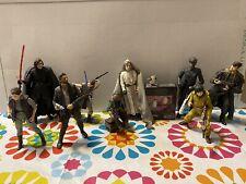 star wars black series loose lot 6 Inch Leia Luke Rey Kylo Porgs Last Jedi