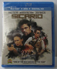 Sicario Blu-ray / DVD 2-Disc Set NEW! No digital copy