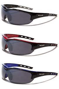 Xloop Sunglasses Mens Wrap Around Comfort Fit Sunglasses Shades Eyewear UV400
