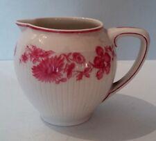 Joli pot à crème en porcelaine GDA Limoges Fleurs roses