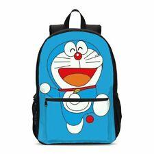 Los estudiantes de impresión de dibujos animados Doraemon Niños Mochila De Lona Niños Escuela libro bolsas