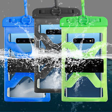 For iPhone XS Max/XS/XR/X Waterproof Bag With Arm Band Swimming Rowing Dry Bag