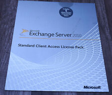 BRAND NEW Microsoft Exchange Server 2010 Standard CAL Pack 5 CAL 381-04125