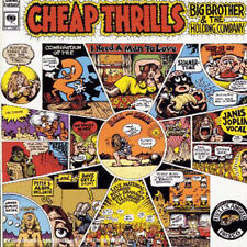 JANIS JOPLIN CHEAP THRILLS REMASTERED CD BLUES ROCK 1999 NEW