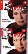 Janet BAKER Signed GREAT EMI RECORDINGS 20CD Mahler Berlioz Elgar Brahms Duparc