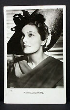 Marcelle Chantal - Movie Photo - Film Foto Autogramm-AK (Lot-H-3656