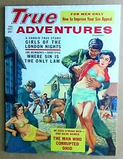 1962 TRUE ADVENTURES PULP MAGAZINE WOMEN PRISONERS COVER