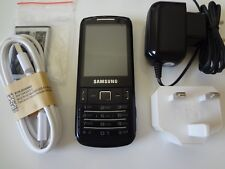 Samsung GT-C3780 - Black (Unlocked) Mobile Phone