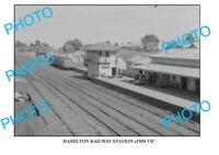 6x4 PHOTO OF OLD HAMILTON RAILWAY STATION VIC c1930