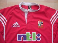 BRITISH IRISH LIONS AUSTRALIA 2001 LONG SLEEVED adidas RUGBY SHIRT JERSEY TOP XL