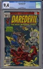 Daredevil #144 CGC 9.4 NM Wp Vs. Man-Bull Marvel Comics 1977 Netflix & Defenders