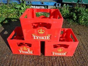 Tyskie Beer Crates X 3