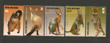 Cats Papua New Guinean Stamps