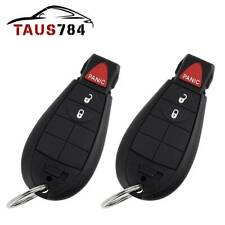 2x Entry Remote Control Keyless Key Fob for Dodge Ram 1500 2500 Grand Caravan