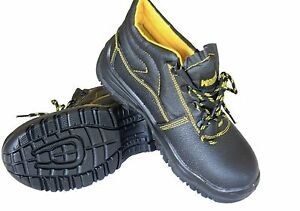 MENS SAFETY WORK SHOES BOOTS STEEL TOE CAP ANTISTATIC OIL RESISTANT ANTISLIP