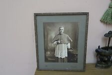 Antique Keogh Bros. Dublin, Ireland Religious Priest Picture