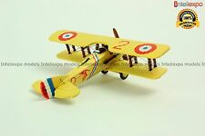 SPAD S.VIIC.1- 1916 French Fighter Aircraft WWI Military Model Diecast 1/72 No 4