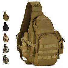 Men's Nylon Military Tactical Travel Hiking Messenger Shoulder Sling Chest Bag