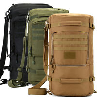 40-60L Waterproof Sport Travel Backpack Laptop Shoulder Bag Rucksack Daypack New