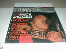 CURRENT Audio Magazine LP SEALED 1972 Charles Manson ELVIS Angela Davis JAGGER