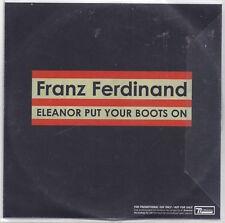 Franz Ferdinand-Eleanor Put Your Boots On promo cd single