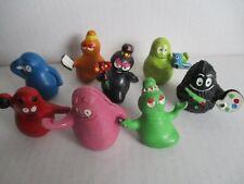8 Comicfiguren BARBAPAPA 70er 80er Jahre Figuren PVC Figures