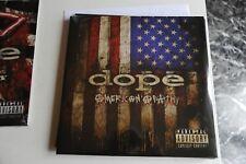 """DOPE - AMERICAN APATHY - VINILE - LP 33 GIRI - 12"""" SIGILLATO LIMITED EDITION"""