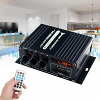 400W bluetooth HiFi Home/Car Amplifier Stereo Music Receiver MP3 FM Radio AU