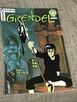 Comico #1 Grendel Comic! Low Print Run! 2nd App and Origin of Grendel NO RESERVE