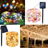 10M Outdoor Solar Powered 33Ft 100 LED Copper Wire Light String Fairy Xmas Party