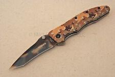 NIB FOX Knife - 381DC Elishewitz Extreme Invader - Desert Camo - Tanto