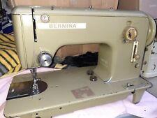 Schnellnaher Nähmaschine Bernina 540-1-11 Leder Jeans Planen Baumwolle Seide