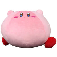 JUMBO Kirby Adventure Run Kirby Plush Toy Super Soft Cushion Pillow RARE Doll