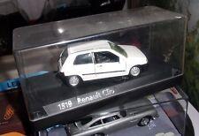 SOLIDO - RENAULT - CLIO 1990 REF 1519 RARE COULEUR BLANCHE  NEUF BOITE