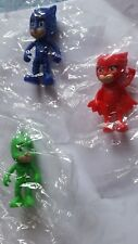 Action figure PJ MASKS n. 3 Super pigiamini (Gattoboy Geco Gufetta)