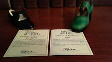 Just the Right Shoe by Raine 2001 Toe Tapper & 1999 Treads w/Coas