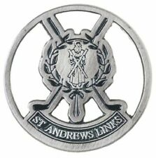 st andrews the old course logo flat golf ball marker