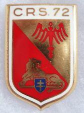 Insigne POLICE Obsolète RETIRAGE Drago CRS 72 France