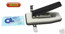 Akiles CSP-G Badge Slot Punch with Side & Depth Guides [New} Desktop Model