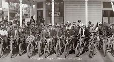 MOTORCYCLE DAY LIVERMORE CIRKUT PANORAMA 9/24/1911 DIGITAL PRINT PHOTOGRAPHY