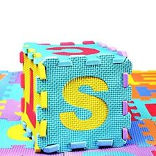 Interlocking Soft EVA Foam Baby Kids Play Mat Alphabet Number Puzzle Game 36Pcs