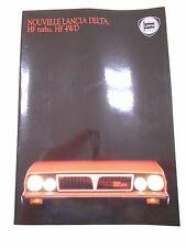 Catalogue LANCIA DELTA HF Turbo, HF 4WD
