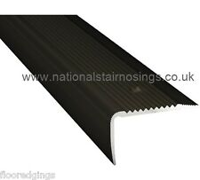Bronze Stair Nosings Step Nose Edging Trim for Tiles Carpet Laminate 35x30mm