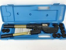 Panduit Ct 930 Hydraulic Lug Crimping 14 Tons Compression Tool With Dies