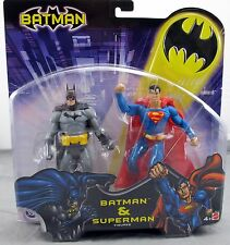 Batman & Superman DC Comics Action Figure Set by Mattel Brand New DC Direct