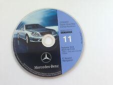 1999 2000 Mercedes S320 S420 S500 S600 C-Version Navigation Map #11 CANADA