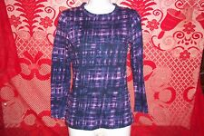 Simply Vera Wang Blouse Shirt Top Long Sleeve Casual Womens Ladies Girls XS