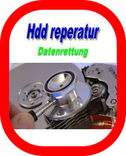 Recuperación de datos disco duro/restauración HDD defectuoso reparación Data Recovery